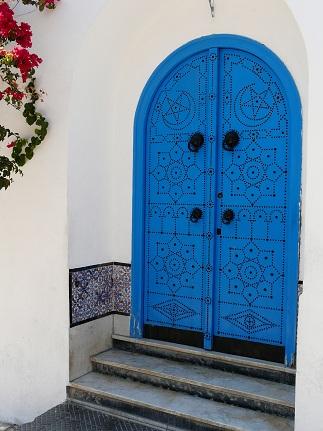 Circuit tunisie 2011 for Decoration porte sidi bou said